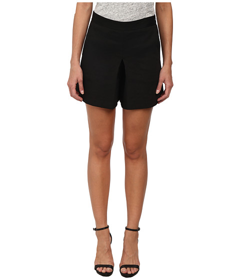 Theory - Taminara Crunch Skort (Black) Women
