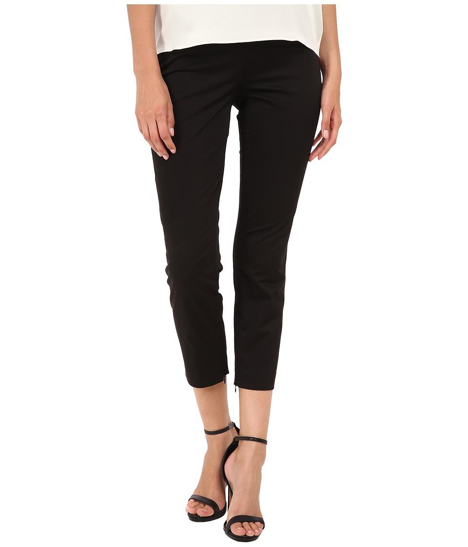 Theory - Tonerma Sateen Pants (Black) Women's Casual Pants