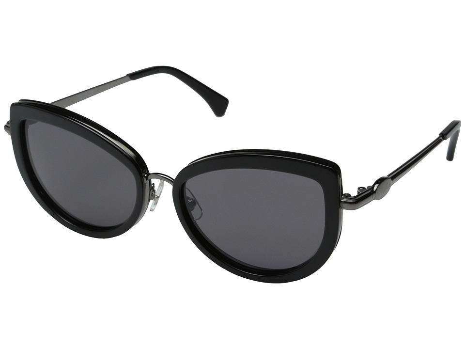 Wildfox - Chaton (Black/Grey Sun) Fashion Sunglasses