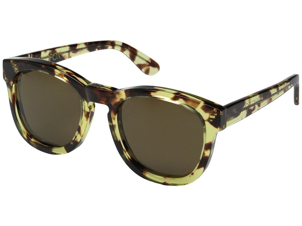 Wildfox - Classic Fox (Amber Tortoise/Brown Sun) Fashion Sunglasses