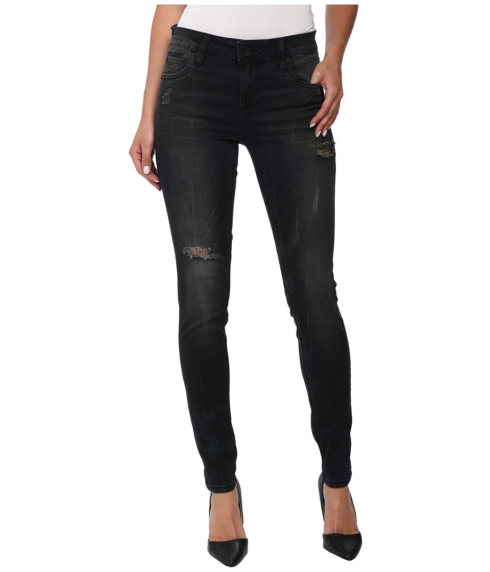 KUT from the Kloth - Mia Toothpick Skinny Jeans in Contribute (Contribute) Women's Jeans