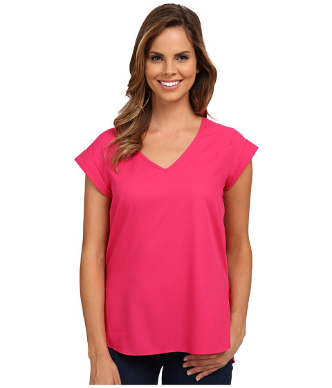 KUT from the Kloth - Adele Top (Fuchsia) Women