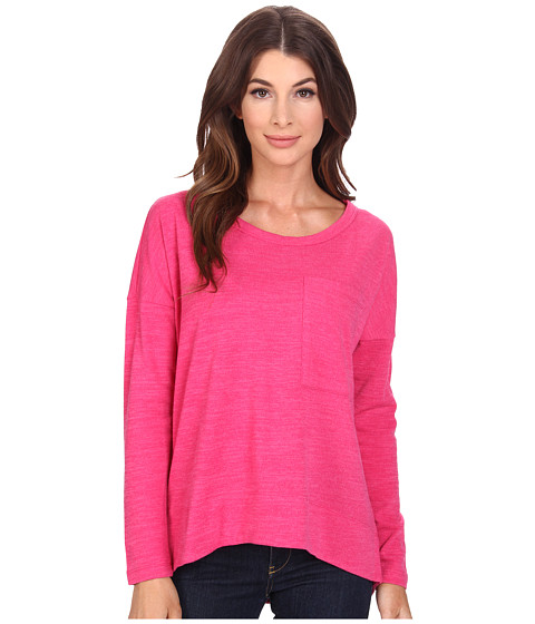 KUT from the Kloth - Sasha Top (Lipstick Pink) Women