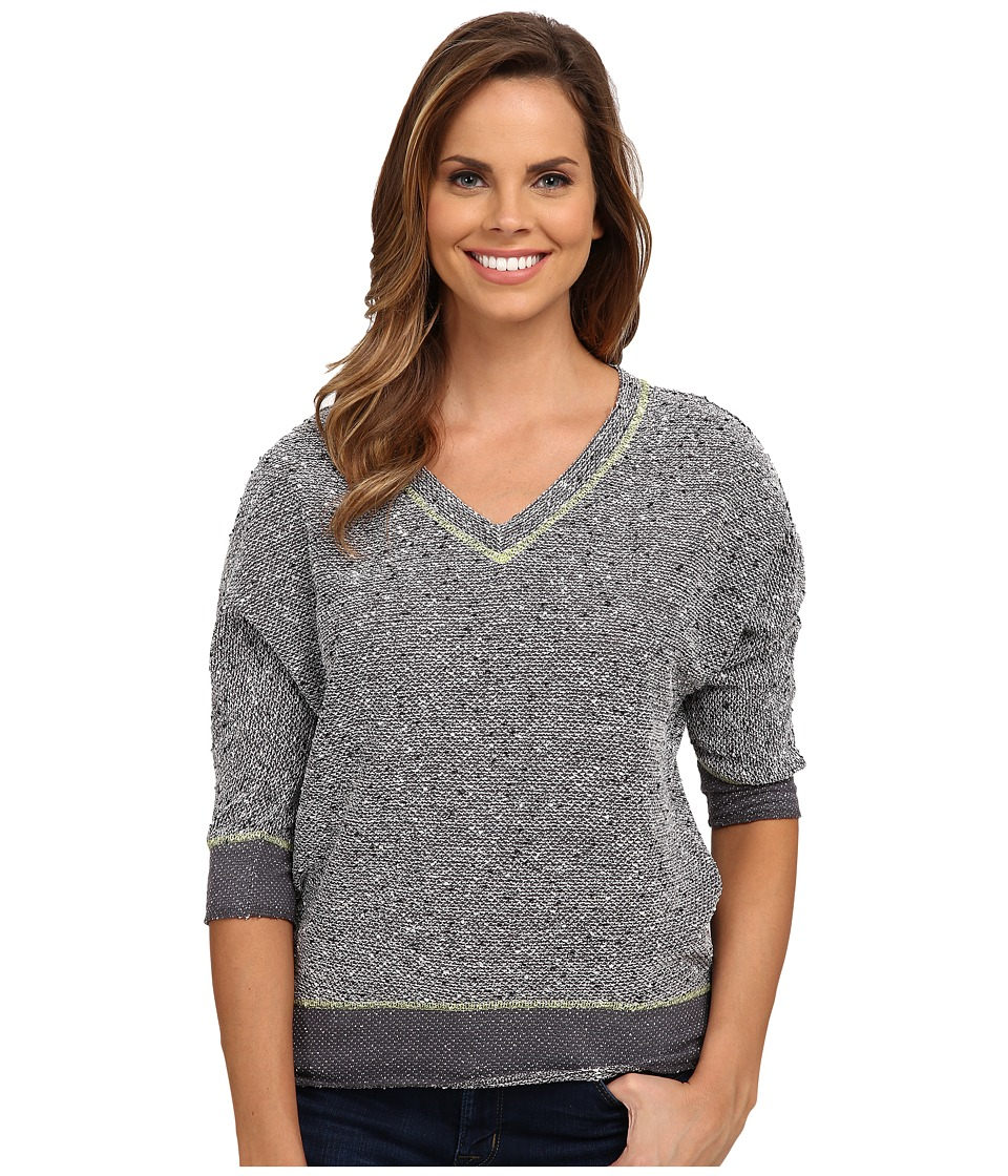 KUT from the Kloth - Nancy Top (Pavement) Women's Long Sleeve Pullover