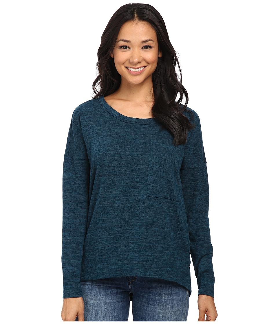 KUT from the Kloth - Sasha Top (Teal) Women's T Shirt