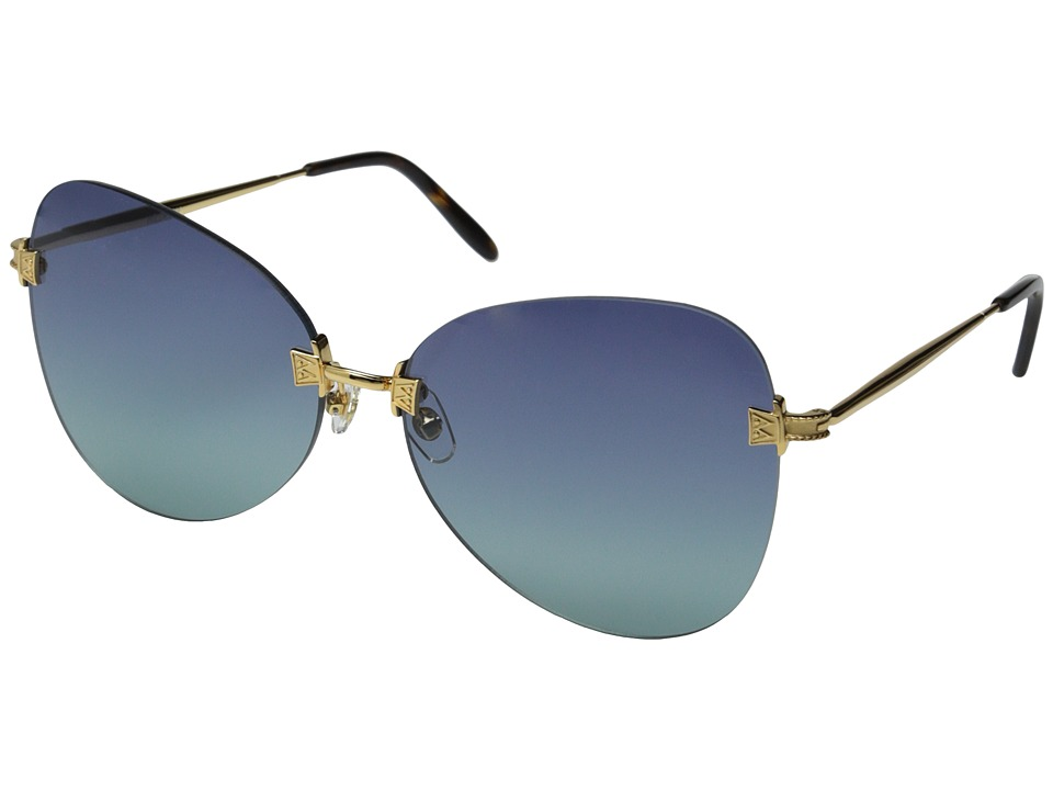 Wildfox - Madame (Gold/Multi Gradient) Fashion Sunglasses
