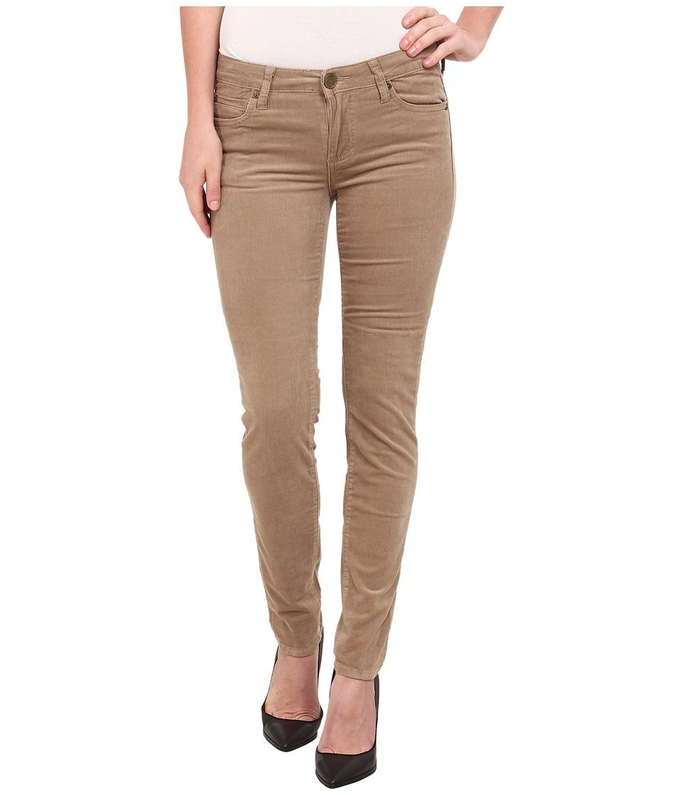 KUT from the Kloth - Diana Cord Skinny Jean (Khaki) Women's Jeans