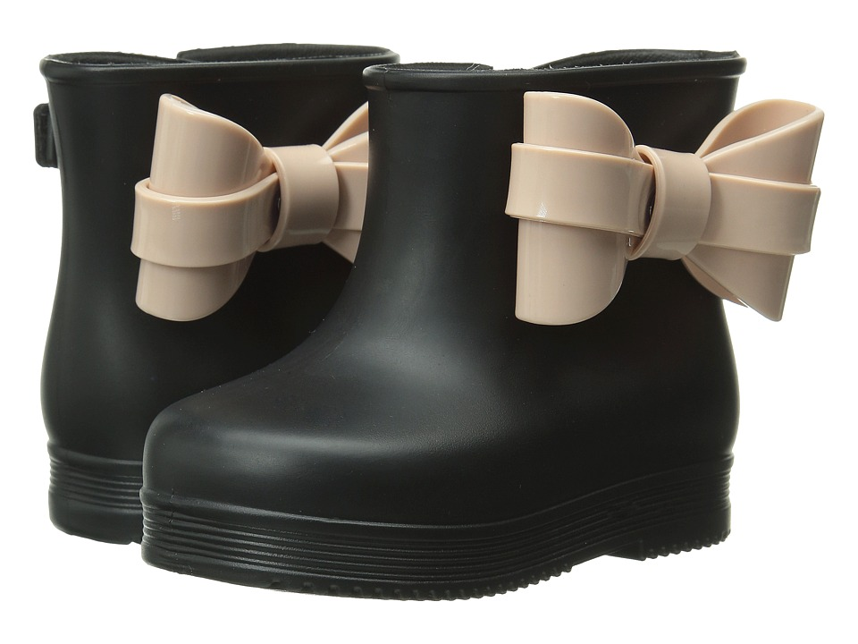 Mini Melissa - Mini Melissa Boot (Toddler) (Black) Girls Shoes