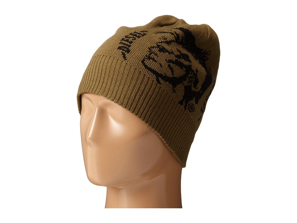 Diesel - K-Grafis Cap (Military/Green) Knit Hats