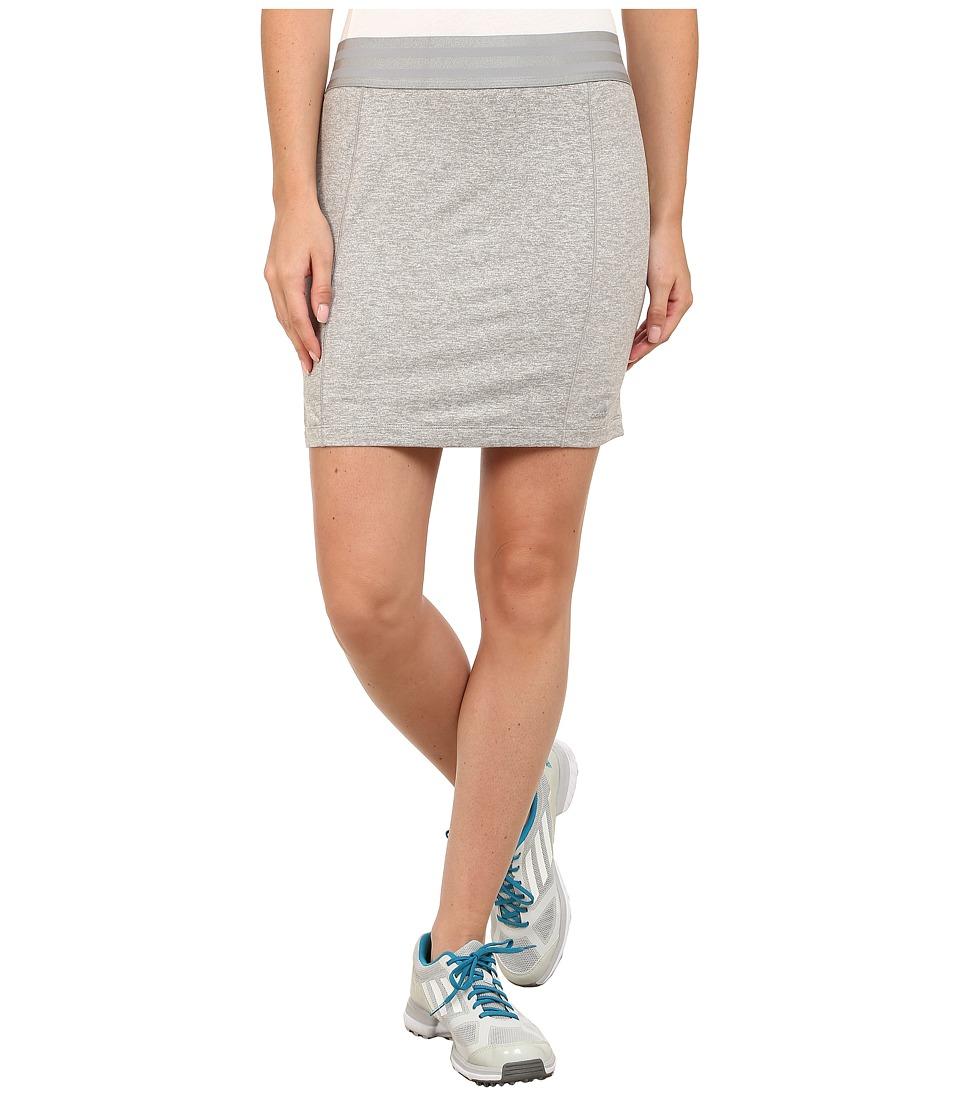 adidas Golf - Essentials Rangewear Skort '15 (Medium Grey Heather) Women's Skort