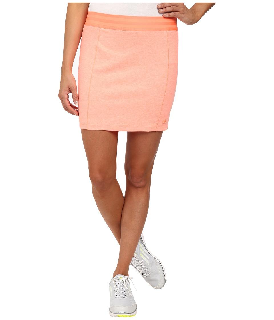 adidas Golf - Essentials Rangewear Skort '15 (Flash Orange Heather) Women's Skort