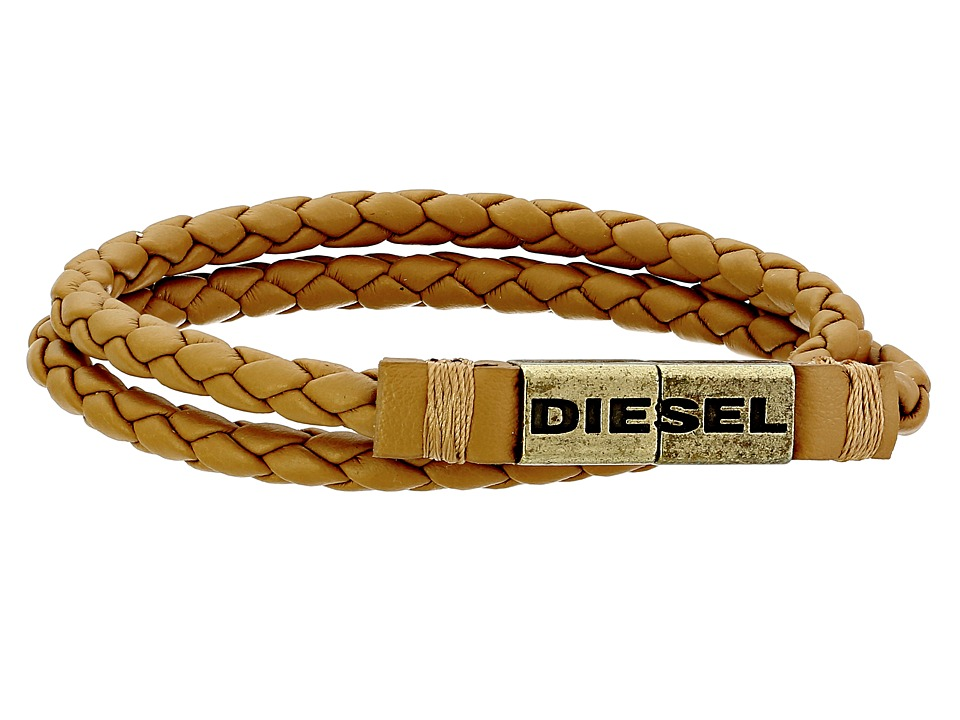 Diesel - 00SJZP 0AAIM Adoo Bracelet (Hazelnut) Bracelet