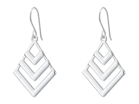 LAUREN by Ralph Lauren - Geo Small Chandelier (Silver) Earring