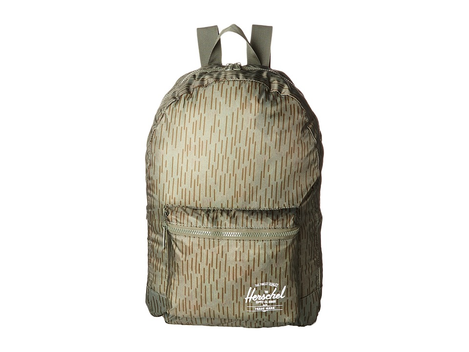 Herschel Supply Co. - Packable Daypack (Rain Camo) Backpack Bags