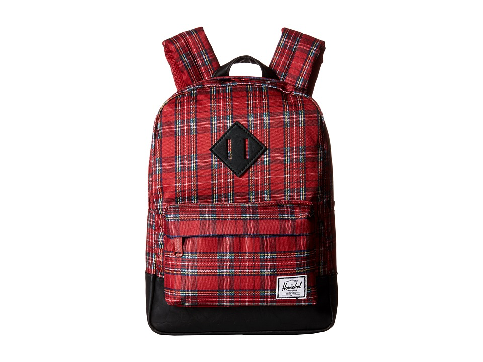 Herschel Supply Co. - Heritage Kids (Red Plaid) Backpack Bags