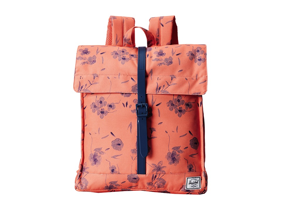 Herschel Supply Co. - City (Ruby Coral) Backpack Bags