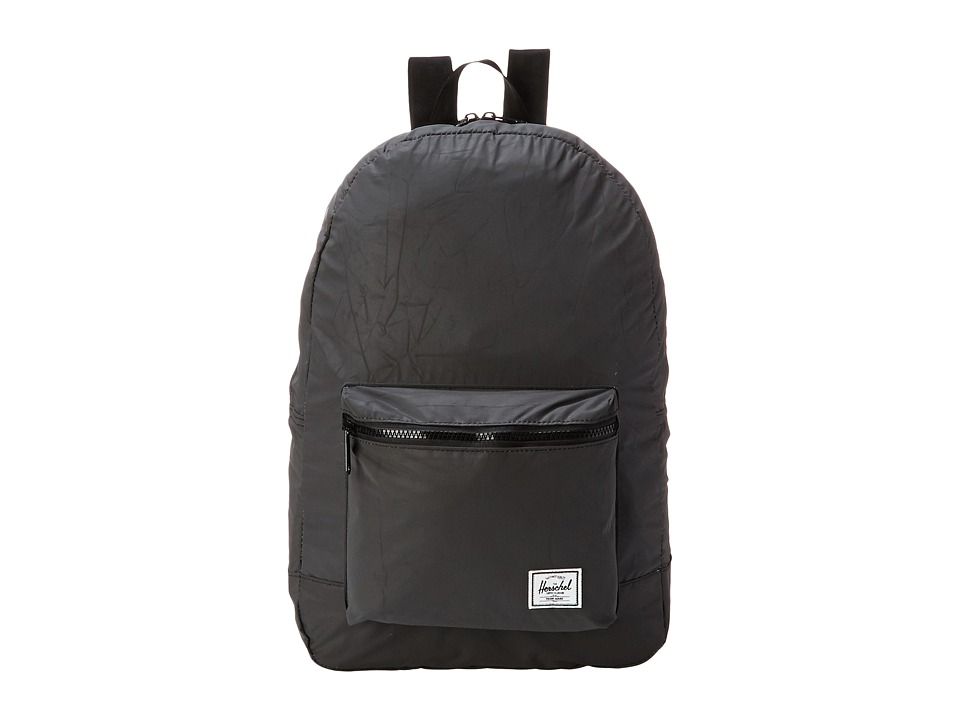 Herschel Supply Co. - Packable Daypack (Black Reflect) Backpack Bags