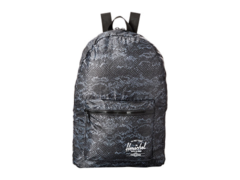 Herschel Supply Co. - Packable Daypack (Black Snake) Backpack Bags