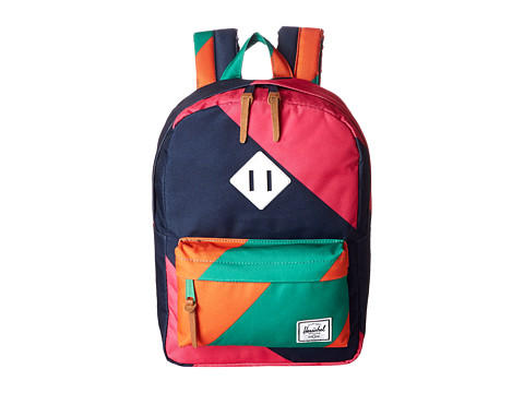 Herschel Supply Co. - Heritage Kids (Pink/Navy Stripe) Backpack Bags