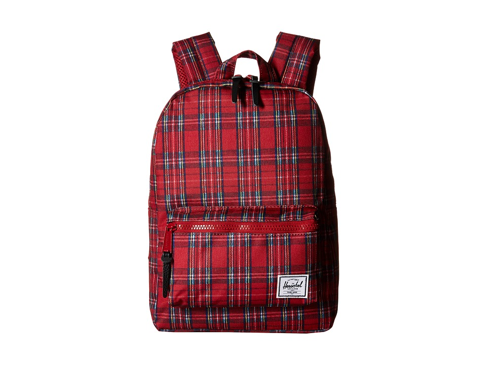 Herschel Supply Co. - Settlement Kids (Red Plaid) Backpack Bags