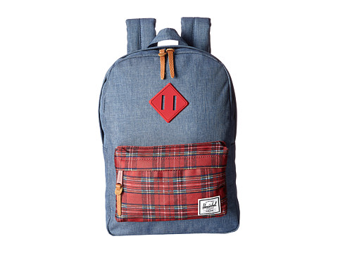 Herschel Supply Co. - Heritage Kids (Crosshatch Navy) Backpack Bags