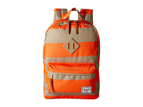 Herschel Supply Co. - Heritage Kids (Orange Stripe) Backpack Bags