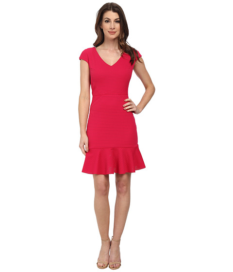 julia jordan - Ellle Dress (Fuchsia) Women's Dress