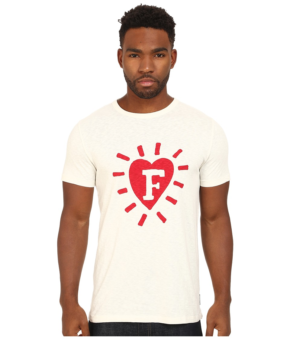 French Connection - F In Heart (Cuba White) Men's Clothing