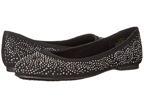 Steve Madden Kids - J-Pretty (Little Kid/Big Kid) (Black/Silver) Girl's Shoes