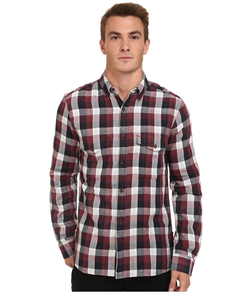 French Connection - Wilton County Pixel Double (Wrath) Men's Clothing