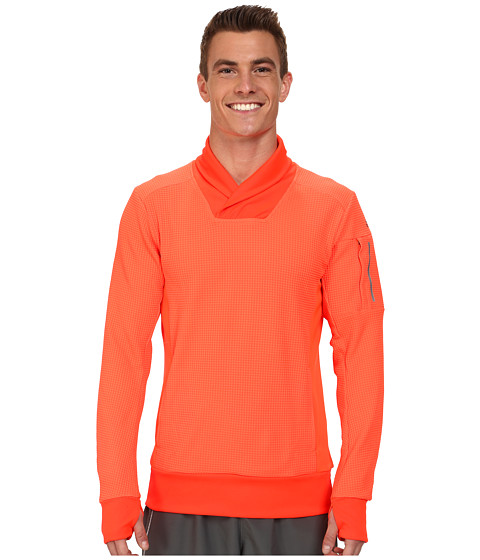 adidas - Explorer Pullover (Solar Red) Men's Workout