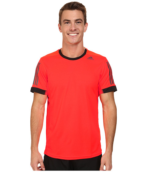 adidas - Supernova Tee (Solar Red/Black) Men's Workout