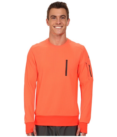 adidas - City Energy Crew Sweatshirt (Solar Red) Men