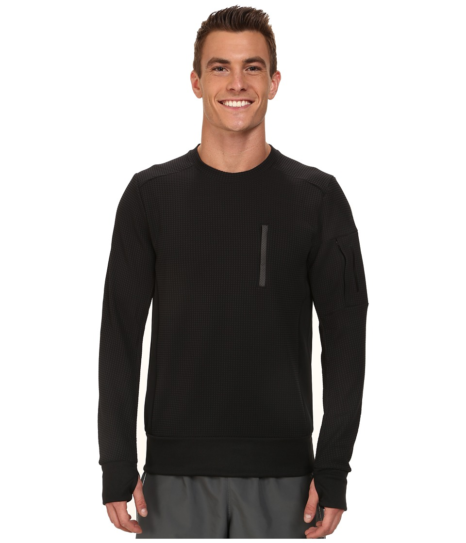 adidas - City Energy Crew Sweatshirt (Black) Men