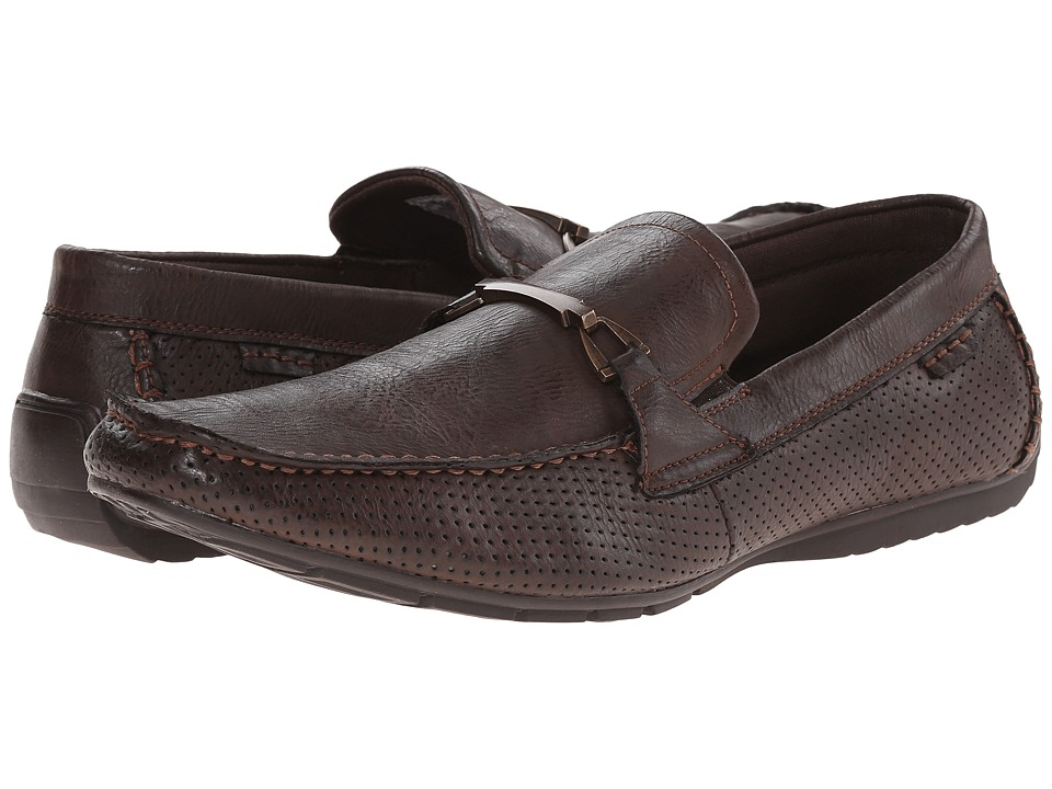 Steve Madden - Heath (Brown) Men's Slip on Shoes