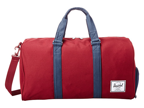 Herschel Supply Co. - Novel (Wine/Navy) Duffel Bags