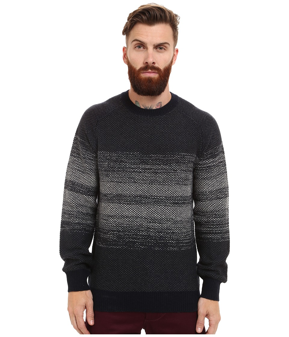 French Connection - Degrade Stripe Knits (Clay) Men's Sweater