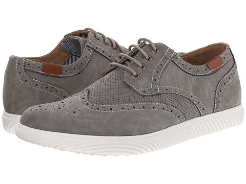 Steve Madden - Rains (Grey Nubuck) Men's Lace up casual Shoes