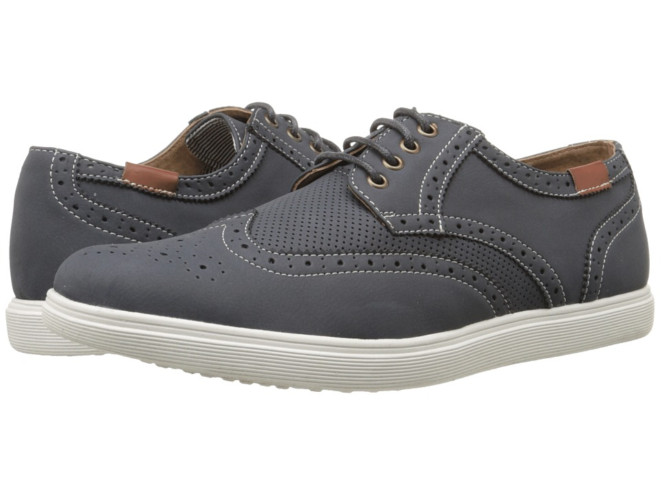 Steve Madden - Rains (Navy Nubuck) Men's Lace up casual Shoes