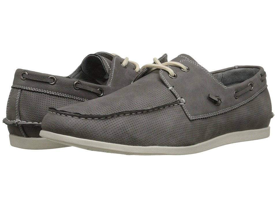 Steve Madden - Gator (Grey Nubuck) Men's Lace up casual Shoes