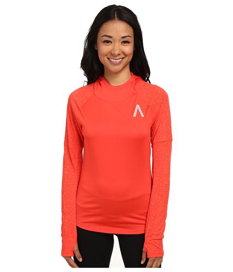 adidas - Aktiv Hoodie (Bright Red) Women's Workout