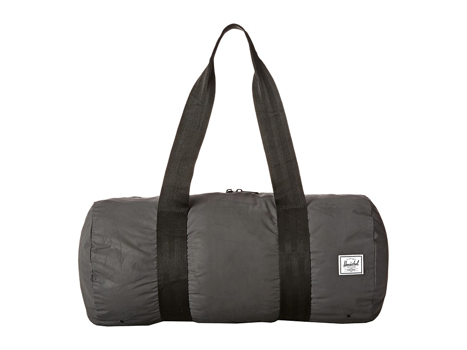 Herschel Supply Co. - Packable Duffle Bag (Black Reflect) Duffel Bags