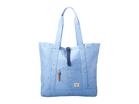 Herschel Supply Co. - Market XL (Scattered Chambray) Tote Handbags