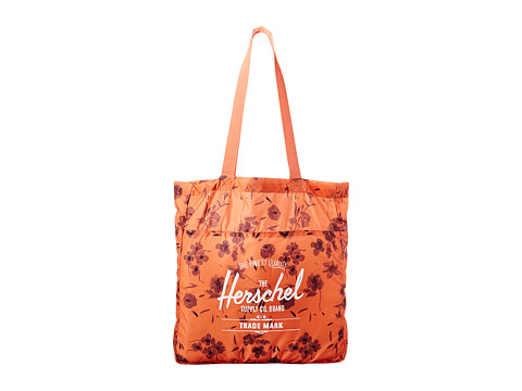 Herschel Supply Co. - Packable Travel Tote Bag (Ruby Coral) Tote Handbags