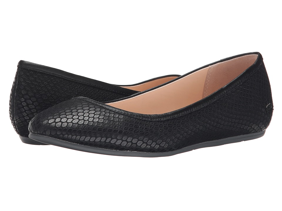 Lacoste - Cessole 5 (Black) Women's Flat Shoes