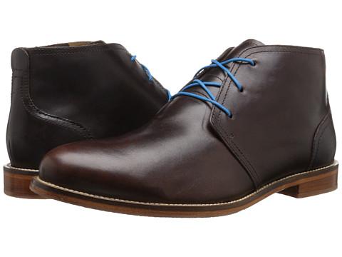 J. Shoes - Monarch Plus (Dark Brown) Men's Lace-up Boots