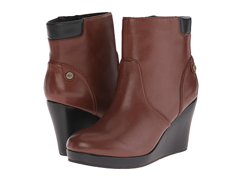 Lacoste - Lazaret 5 (Brown) Women's Zip Boots