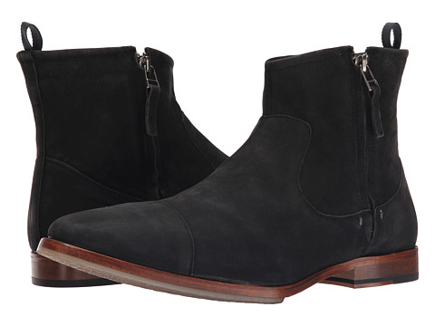 J. Shoes - Navarra (Black) Men's Zip Boots