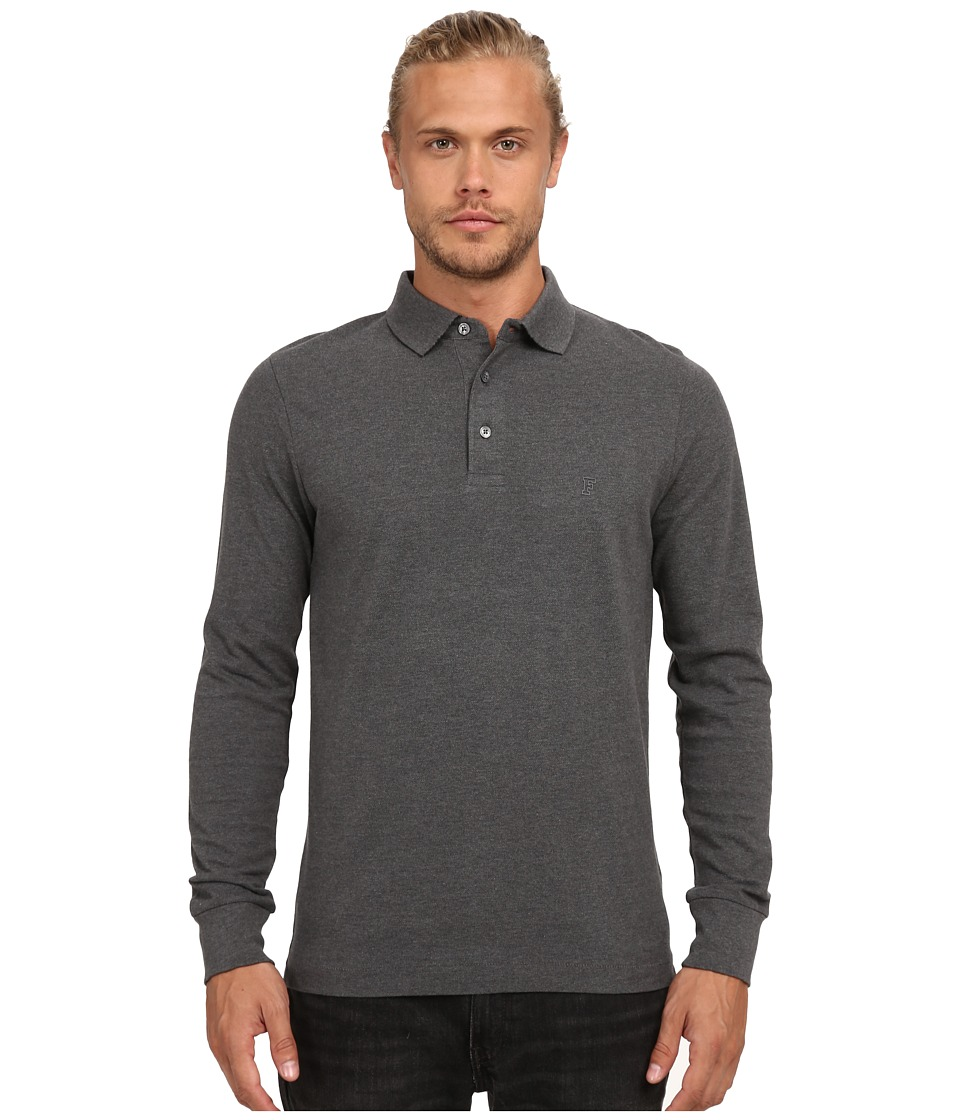 French Connection - Brunswick Plain (Charcoal Melange) Men's Clothing