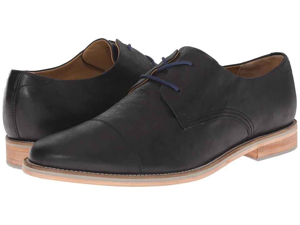 J. Shoes - Lore (Black) Men's Lace up casual Shoes